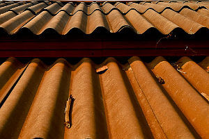 Corrugated Metal Panel Roof Snow Retention