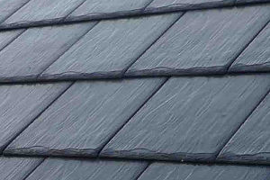 Natural Slate Roof Snow Retention